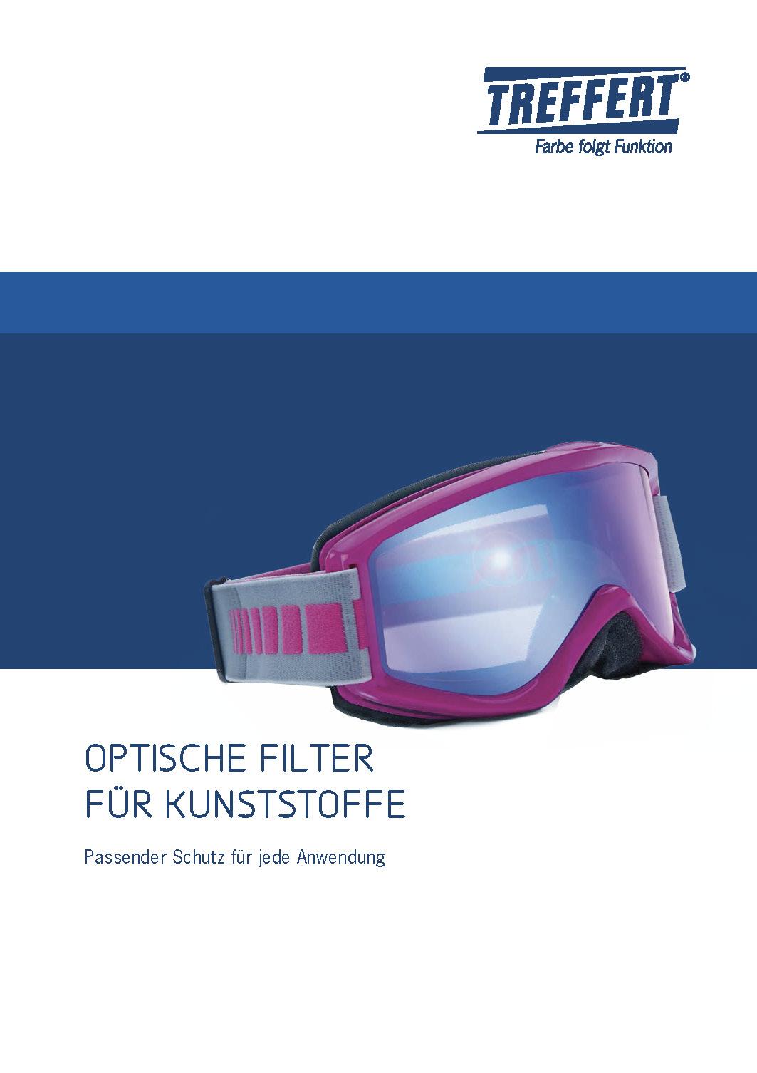 Broschüre Optische Filter für Kunststoffe von Treffert herunterladen