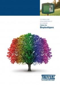 Brochure de Treffert avec des informations sur les bioplastiques et la coloration des bioplastiques