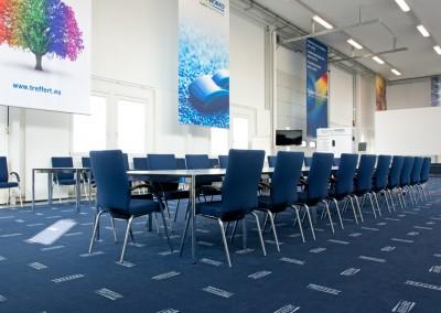 Le Centre d'Innovation Treffert offre de la place pour des ateliers et des formations