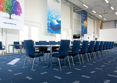 The Treffert Innovation Centre offers room for workshops and training sessions