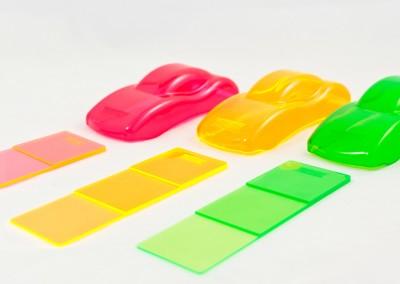 Nous colorons vos matières plastiques fidèlement à vos spécifications